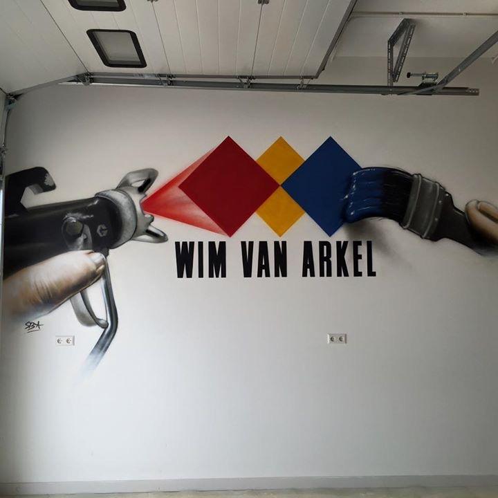 Grafitti art, verzorgd door ratllecanned van sven bijster